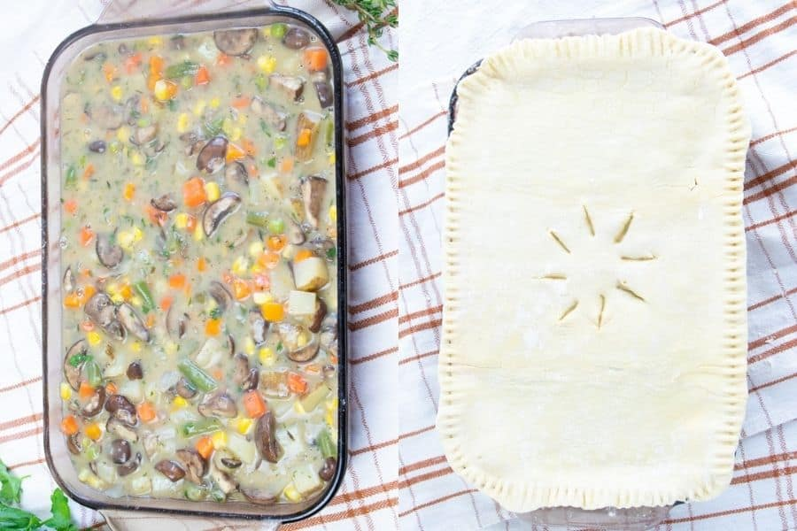 Vegan Pot Pie Puff Pastry
