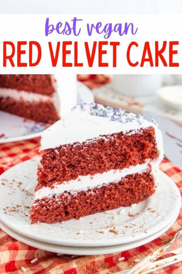 Best Vegan Red Velvet Cake