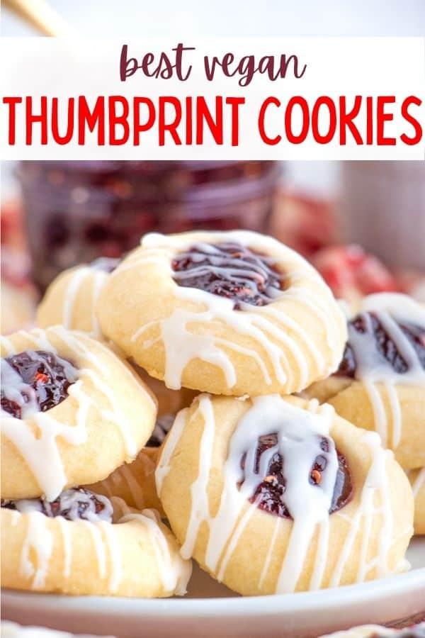 Dairy Free Thumbprint Cookies Recipe