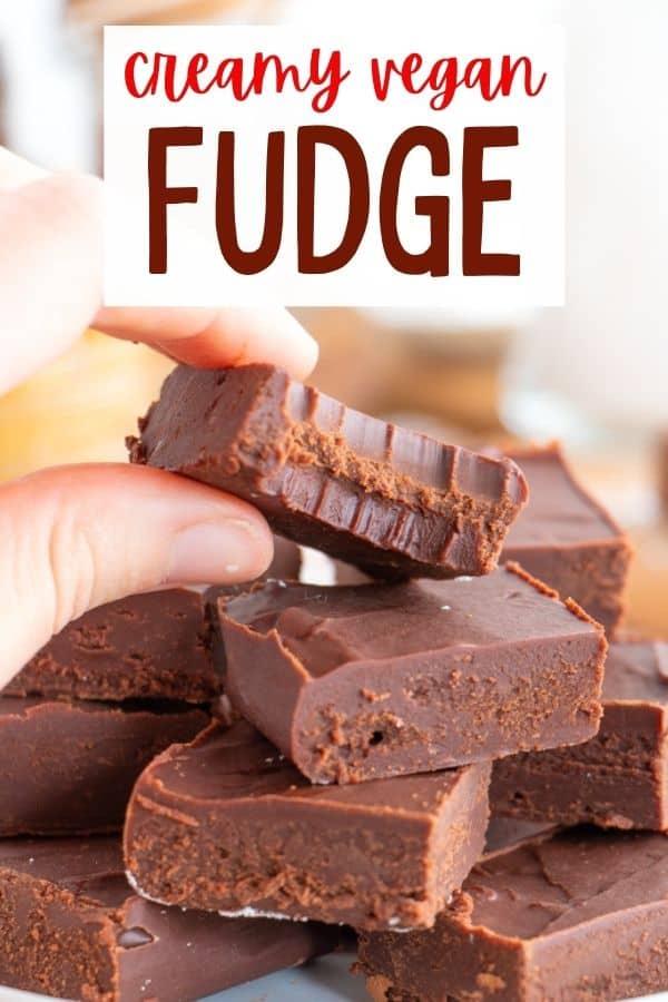 Easy Vegan Fudge Recipe
