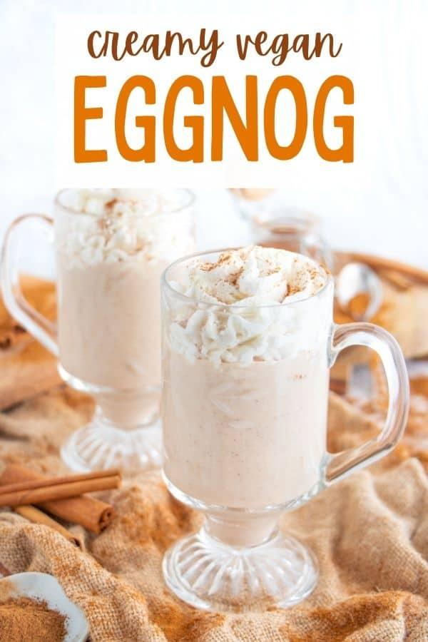 Creamy Vegan Eggnog Recipe