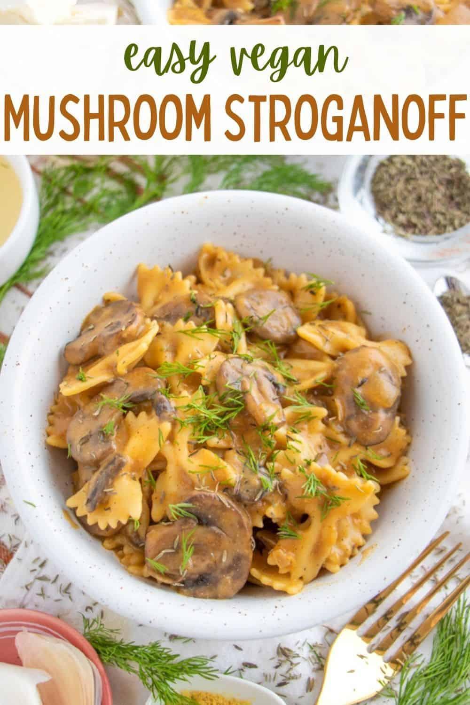 Best Vegan Stroganoff