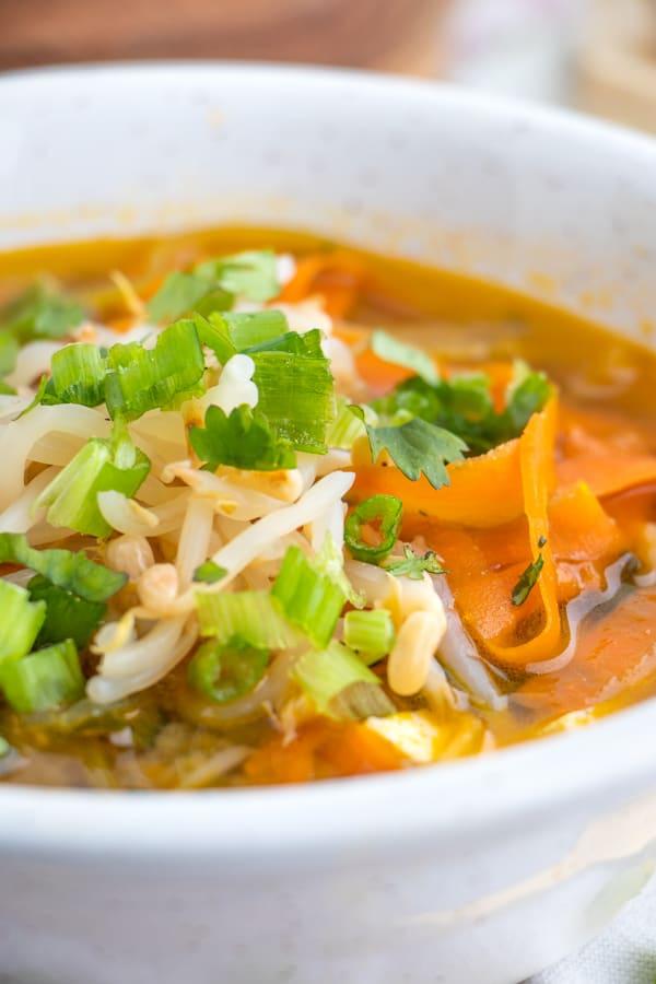 Vegetable Miso Soup