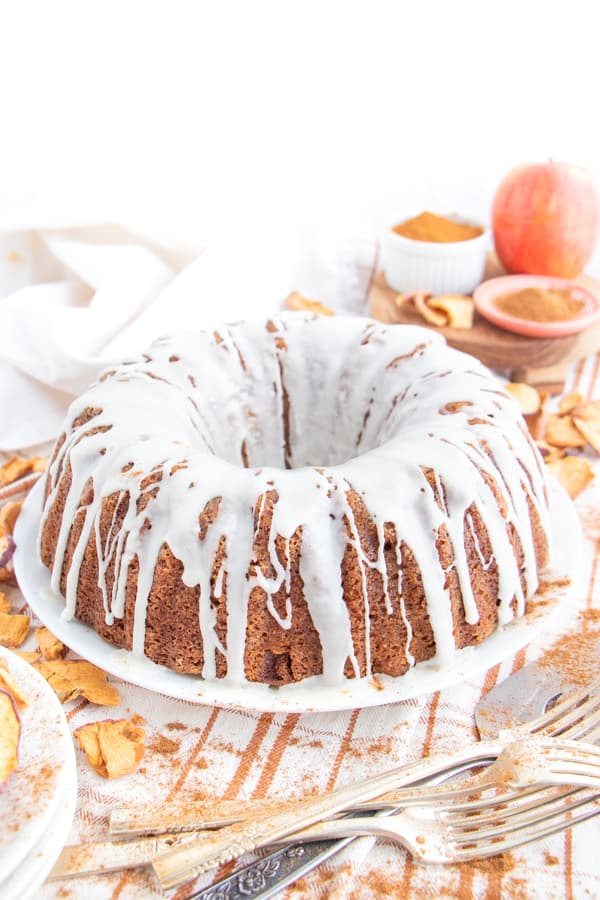 Apple Cake Eggless