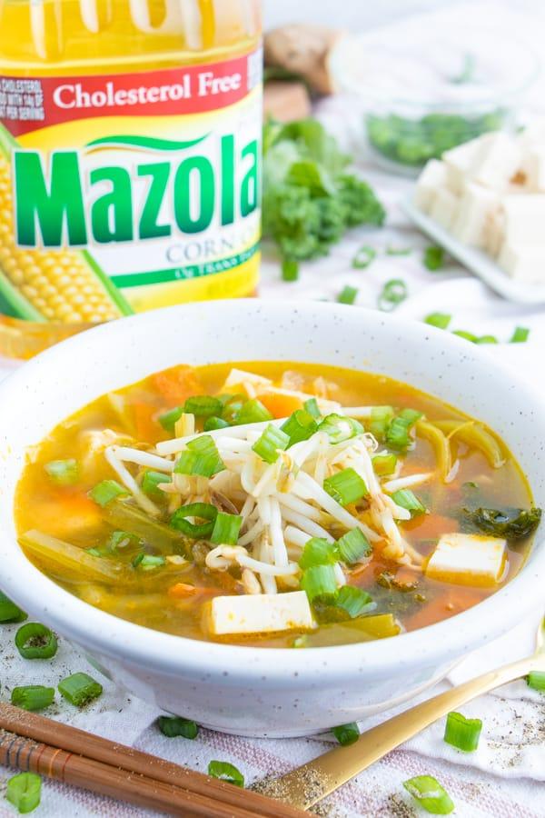 Vegetarian Miso Suop