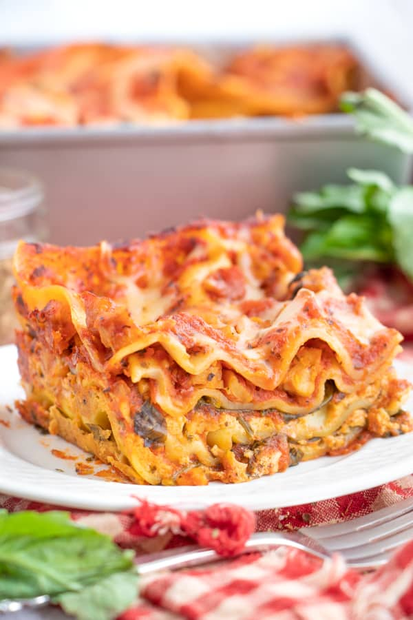 Vegan Lasagna Easy Recipe