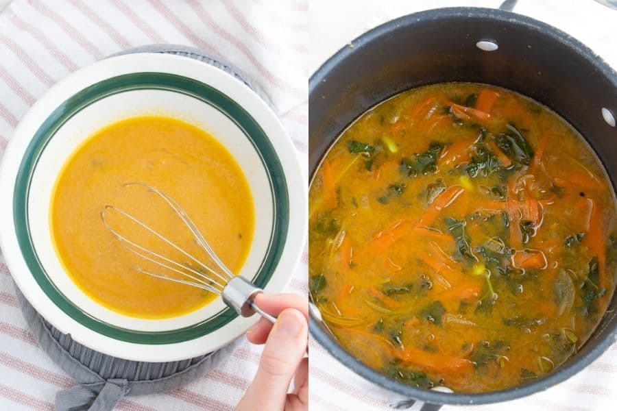 Miso Soup Recipe with Vegetables