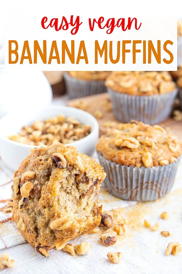 Vegan Banana Muffin Recipe Easy