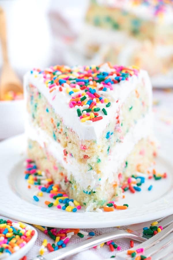 Vegan Funfetti Cake Recipe