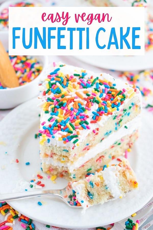 Best Vegan Cake Confetti