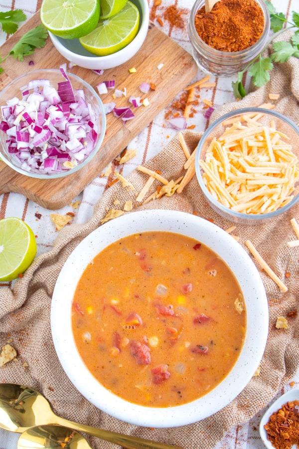 Vegan Mexican Soup Recipe