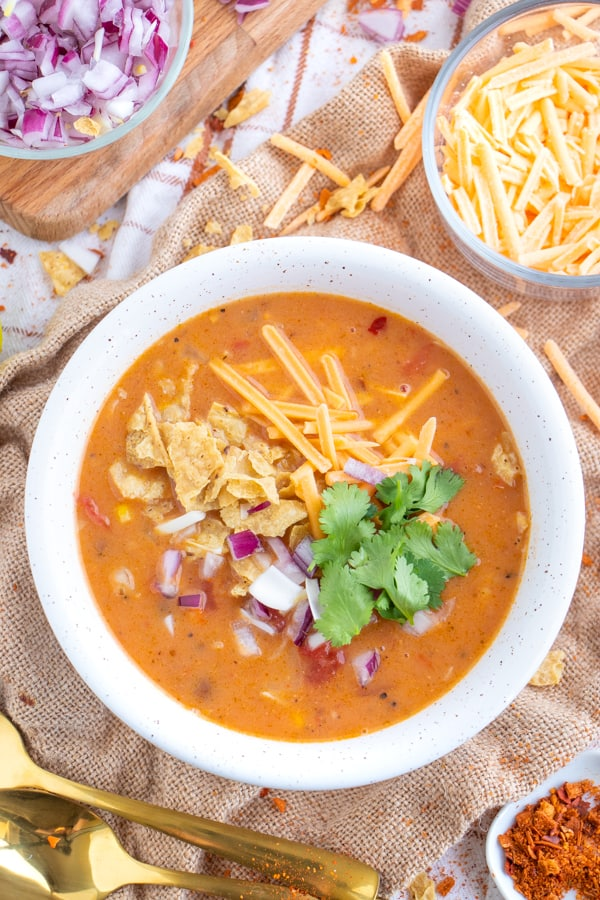 Vegan Tortilla Soup Recipe