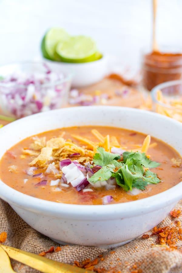 Vegan Mexican Soup