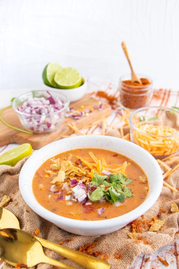 Vegetarian Southwestern Soup