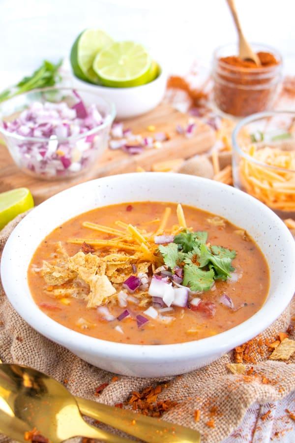 Vegan Southwest Soup