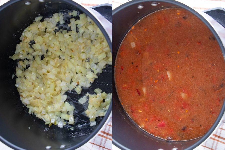 Recipe for Vegetarian Tortilla Soup