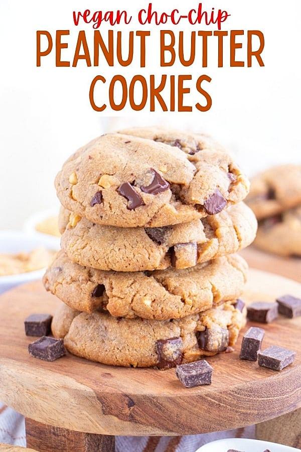 Vegan Peanut Butter Chocolate Chip Cookie Recipe