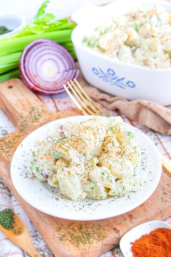 Dairy Free Potato Salad