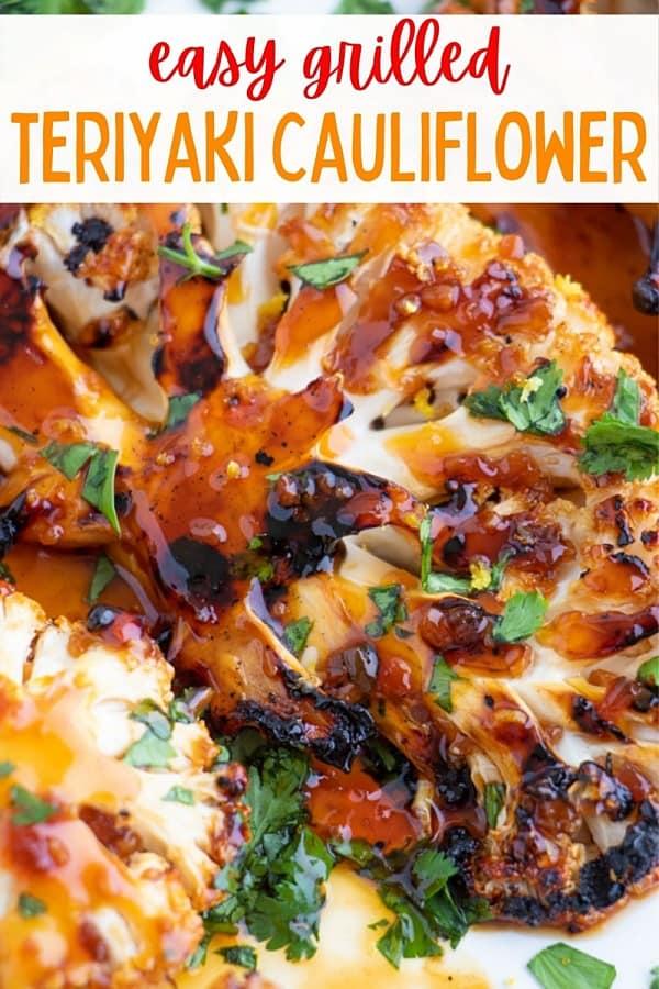 Best Vegan Teriyaki Cauliflower