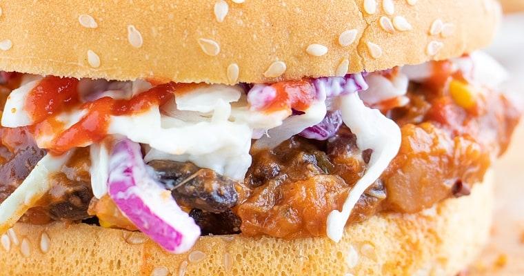 Jackfruit Bbq Sandwich