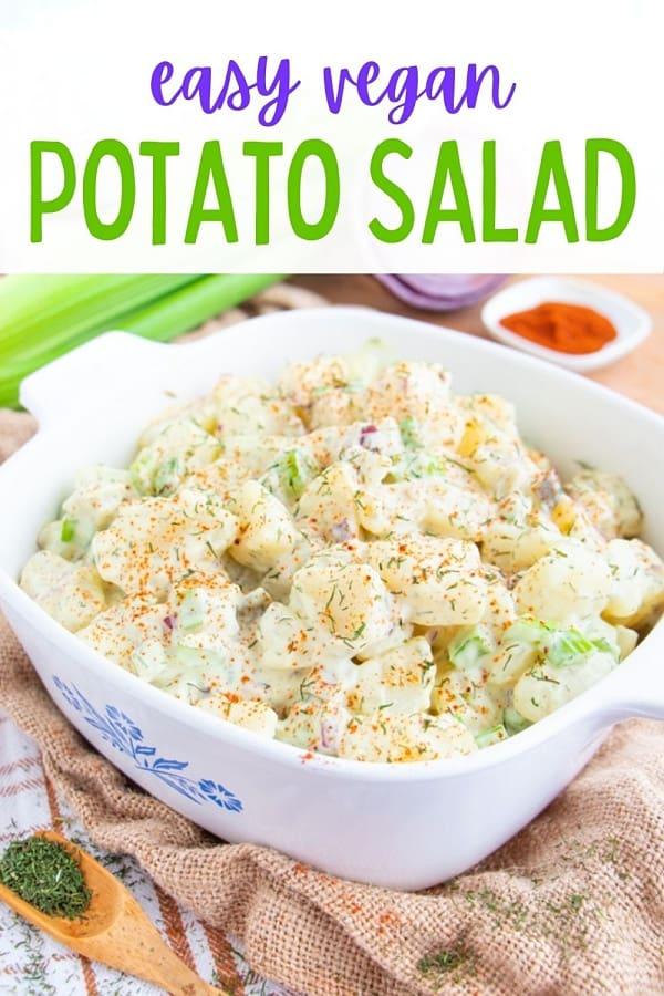 Easy Potato Salad Dairy Free