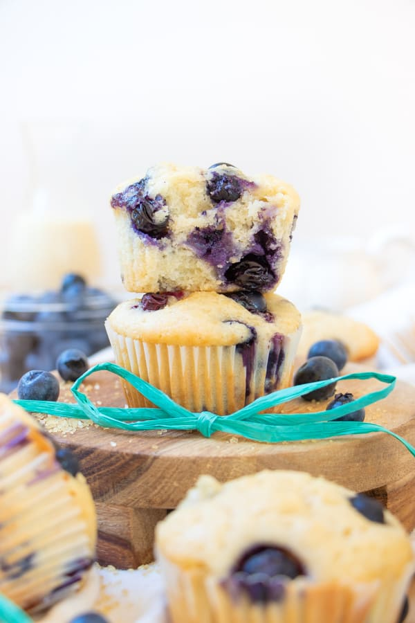 Blueberry Muffins Recipe without Eggs