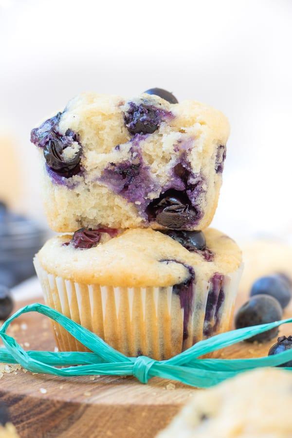 Best Vegan Blueberry Muffins