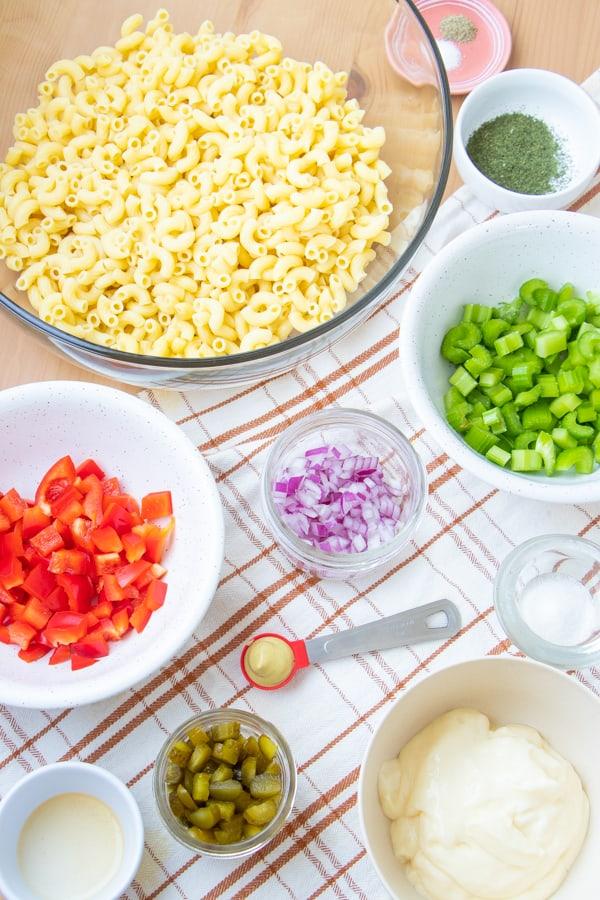Easy Vegan Macaroni Salad