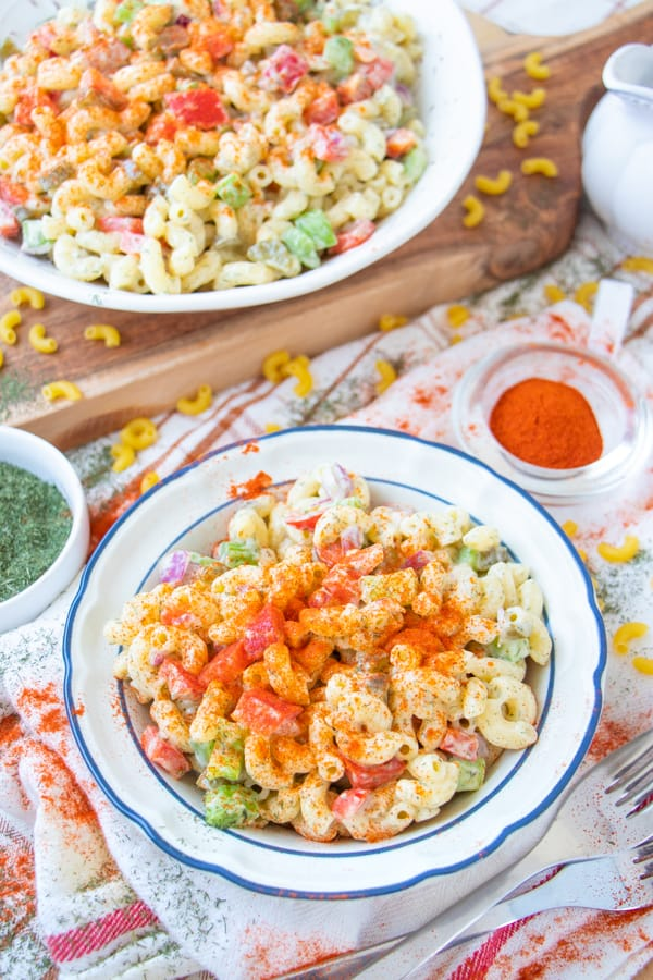 Vegan Mac Salad