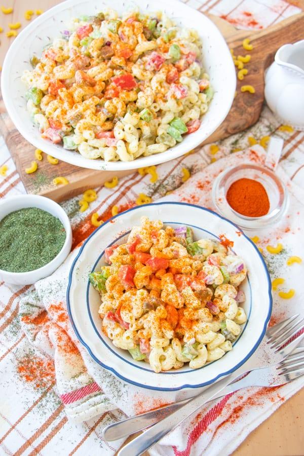 Macaroni Salad Recipe Veg
