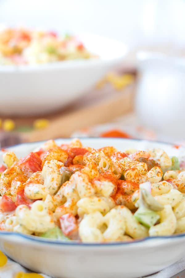 Vegan Pasta Salad Creamy