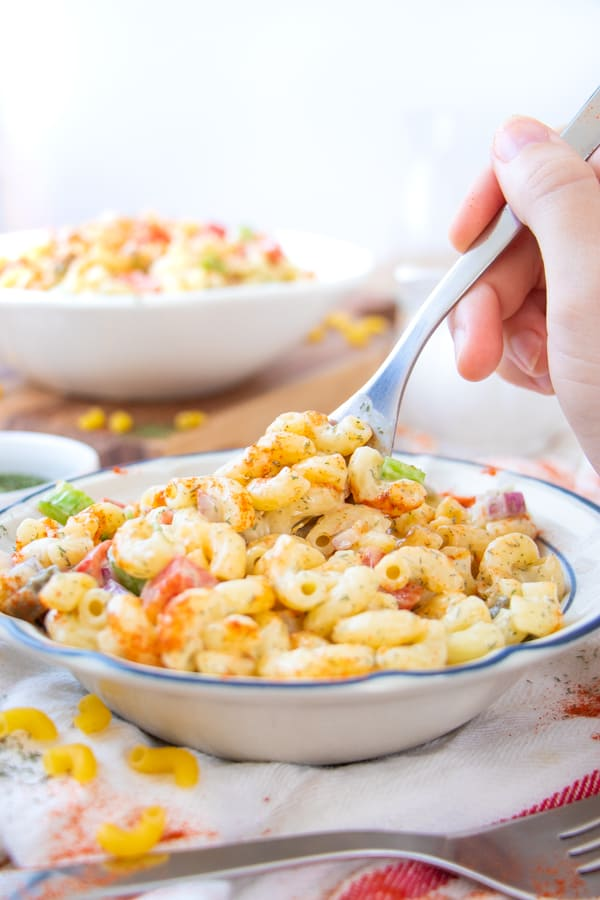 Vegan Pasta Salad Mayo