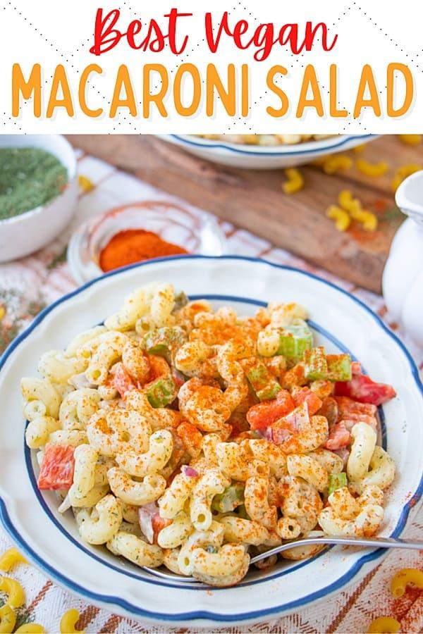 Best Macaroni Salad Dairy Free