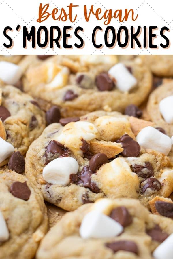 Vegan Smores Cookie Recipe