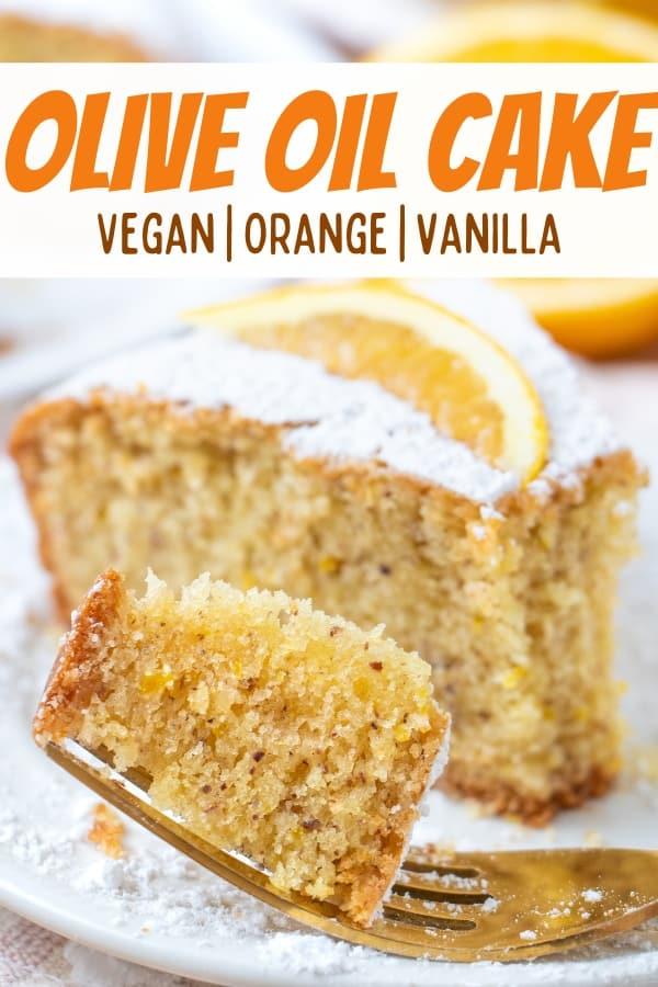Vegan Orange Olive Cake