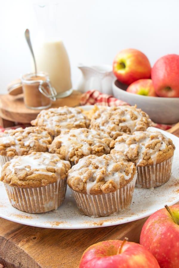 Dairy Free Apple Muffins