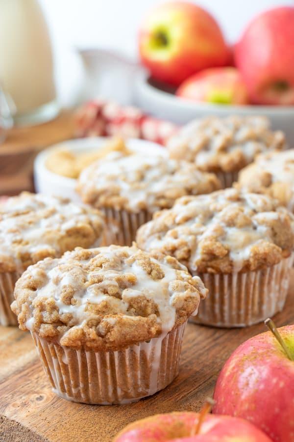 Dairy Free Apple Cinnamon Muffins