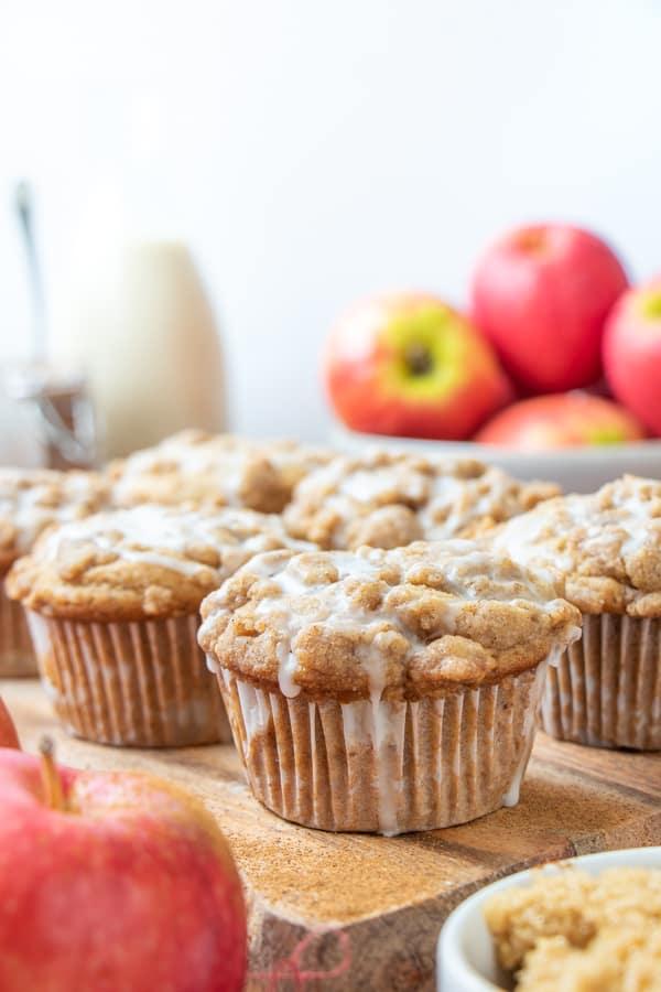 Vegan Apple Muffins Recipe