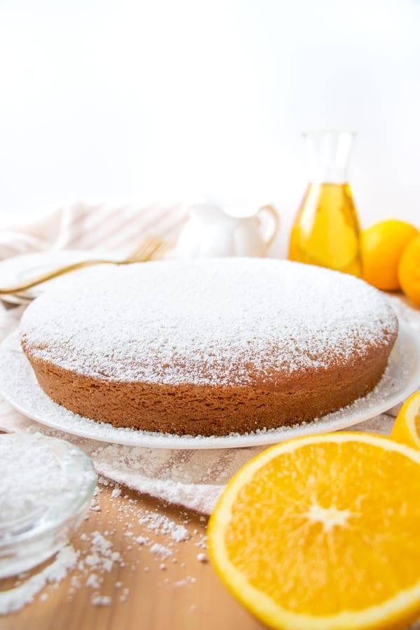 Orange Olive Oil Cake Vegan