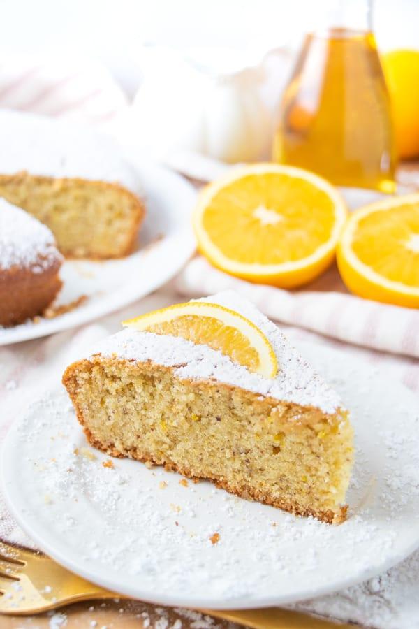 Orange Cake Vegan