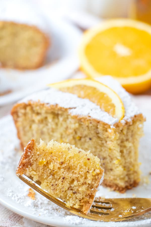 Dairy Free Olive Oil Cake