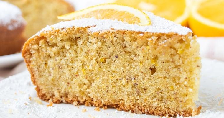 Vegan Orange Olive Oil Cake Recipe