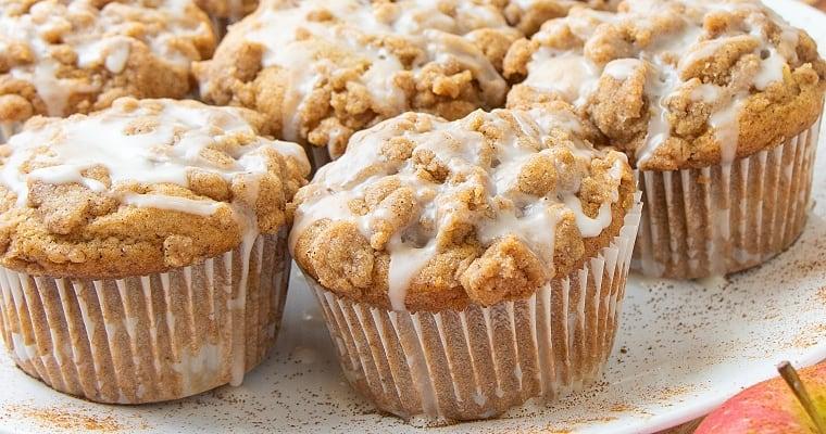 Vegan Easy Apple Muffins Recipe