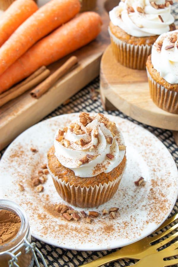 Best Vegan Carrot Cupcakes