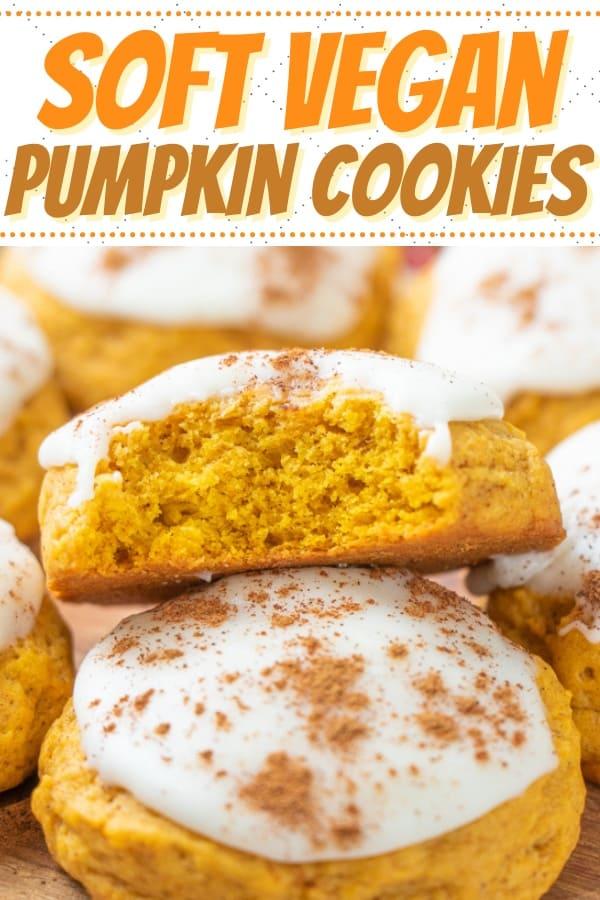Vegan Pumpkin Pie Cookies