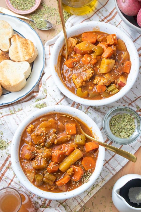 Vegetarian Beef Stew