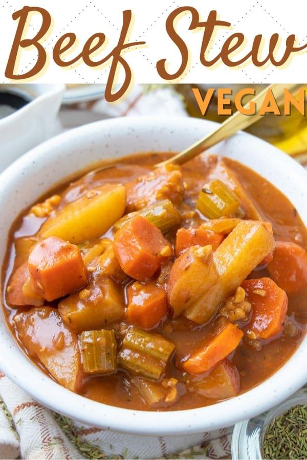 Vegan Beef Soup