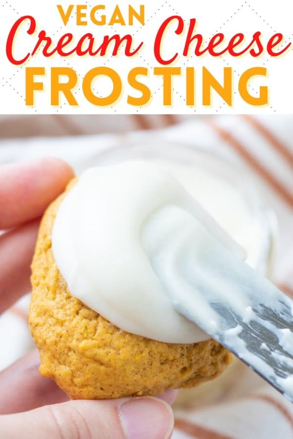 Easy Vegan Frosting Cream Cheese